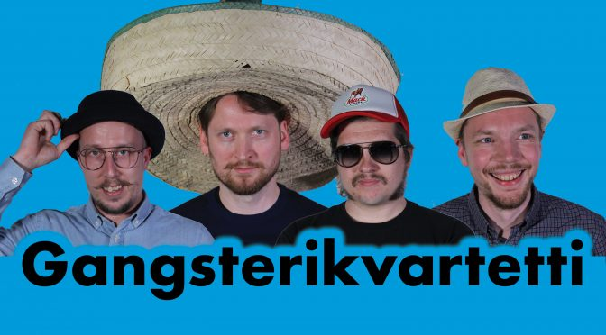 Gangsterikvartetti-ep arvioitu Desibeli.netissä